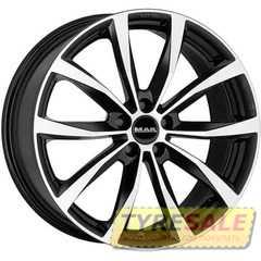 Купить MAK Wolf Black Mirror R16 W6.5 PCD5x100 ET48 DIA56.1