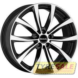 Купить MAK Wolf Black Mirror R17 W7.5 PCD5x115 ET40 DIA70.2