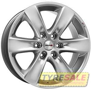 Купить MAK Sierra Silver R18 W8 PCD5x115 ET35 DIA70.2