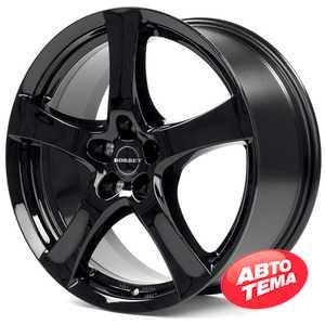 Купить BORBET F Glossy Black R17 W7 PCD5x114.3 ET50 HUB72.6