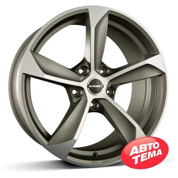 BORBET S Graphite Polished Matt - Интернет магазин шин и дисков по минимальным ценам с доставкой по Украине TyreSale.com.ua