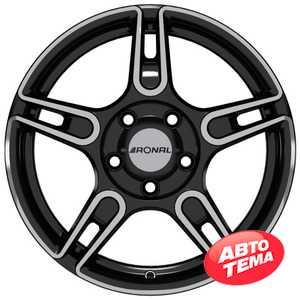 Купить RONAL R 52 T B FC R14 W5 PCD4x100 ET45 DIA68