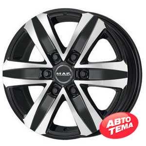 Купить MAK Stone 6 T Black Mirror R18 W8.5 PCD5x120 ET40 HUB65.1