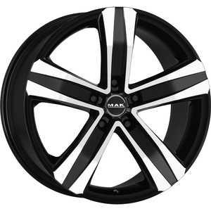 Купить MAK Stone 5 T Black Mirror R19 W8.5 PCD5x114.3 ET35 HUB76