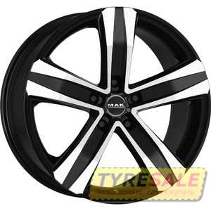 Купить MAK Stone 5 T Black Mirror R19 W8.5 PCD5x130 ET45 HUB71.6