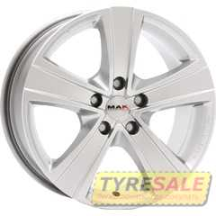Купить MAK Fuoco Silver R18 W8 PCD5x114.3 ET35 HUB76