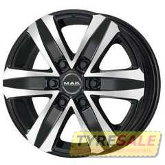 Купить MAK Stone 6 Black Mirror R17 W7.5 PCD6x139.7 ET30 HUB112