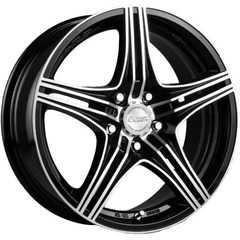 RW (RACING WHEELS) H-464 BK-F/P - Интернет магазин шин и дисков по минимальным ценам с доставкой по Украине TyreSale.com.ua