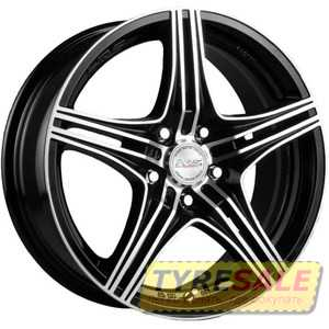 Купить RW (RACING WHEELS) H-464 BK-F/P R16 W7 PCD5x114.3 ET40 DIA67.1