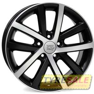 Купить WSP ITALY Rheia VO60 W460 DULL BLACK POLISHED R16 W6.5 PCD5x112 ET50 DIA57.1