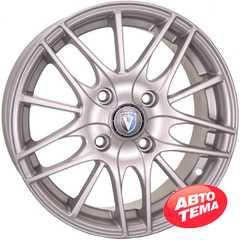 Купить TECHLINE 1406 S R14 W5.5 PCD4x100 ET43 HUB60.1