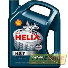 Купить Моторное масло SHELL Helix Diesel HX7 10W-40 CF (4л)