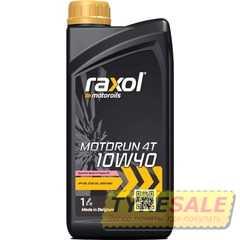 Купить Моторное масло RAXOL Moto Run 4T 10W-40 (1л)