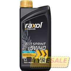 Моторное масло RAXOL Eco Sprint - Интернет магазин шин и дисков по минимальным ценам с доставкой по Украине TyreSale.com.ua