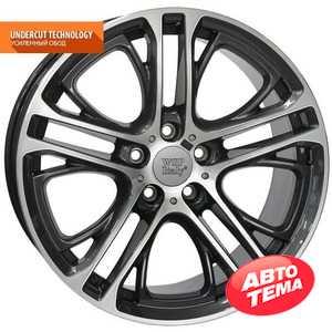 Купить WSP ITALY XENIA BM77 W677 DIAMOND BLACK POLISHED R19 W8 PCD5X120 ET30 DIA72.6