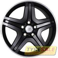 Купить WSP ITALY MIYAGI W775 DULL BLACK R POLISHED R20 W9.5 PCD5x130 ET50 DIA84.1