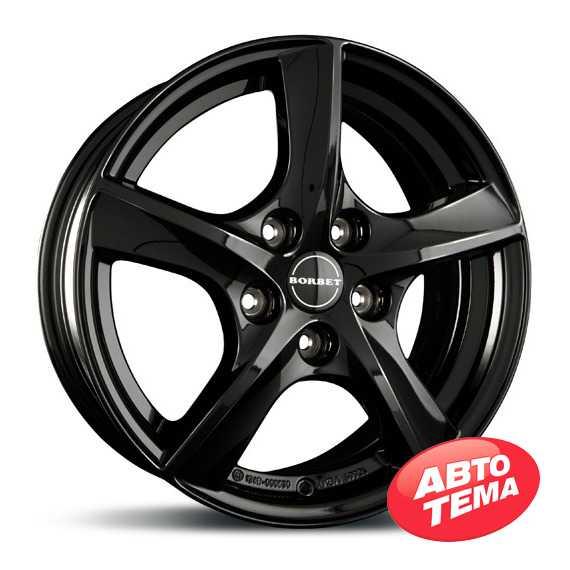 BORBET TL2 Glossy Black - Интернет магазин шин и дисков по минимальным ценам с доставкой по Украине TyreSale.com.ua