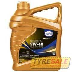 Купить Моторное масло EUROL Super Lite 5W-40 (4л)
