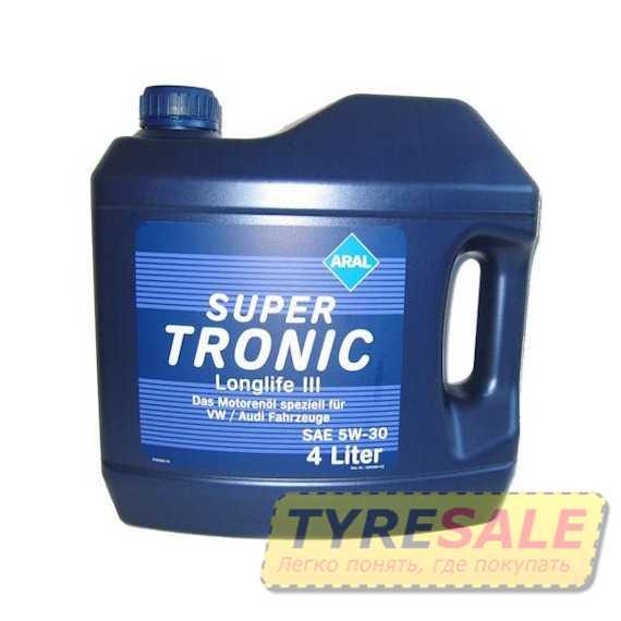Моторное масло ARAL Super Tronic Longlife III - Интернет магазин шин и дисков по минимальным ценам с доставкой по Украине TyreSale.com.ua