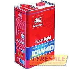 Купить Моторное масло WOLVER Super Light 10W-40 (4л)