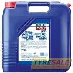 Купить Моторное масло LIQUI MOLY LKW LEICHTLAUF Motoroil 10W-40 (20л)