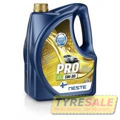 Купить Моторное масло NESTE City Pro C2 5W-30 API SM/CF (4л)