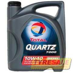 Купить Моторное масло TOTAL QUARTZ Diesel 7000 10W-40 (5л)