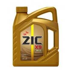 Купить Моторное масло ZIC X9 5W-40 (4л)