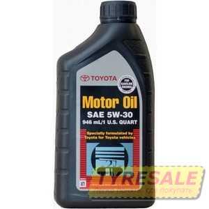 Купить Моторное масло TOYOTA MOTOR OIL 5W-30 (0.946 л)