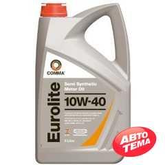 Купить Моторное масло COMMA EUROLITE 10W-40 API SN/CF (5л)