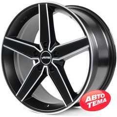 AUTEC Delano Schwarz matt poliert - Интернет магазин шин и дисков по минимальным ценам с доставкой по Украине TyreSale.com.ua