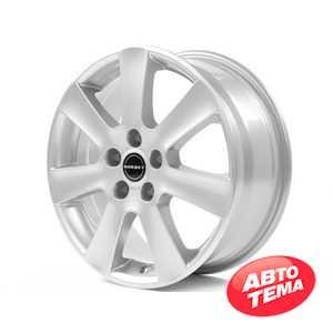 Купить BORBET CA Crystal Silver R16 W7 PCD5x112 ET45 HUB57.1