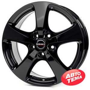Купить BORBET CC (F) black glossy R16 W7 PCD5x118 ET45 HUB71.1
