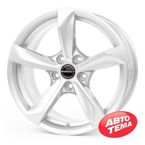 BORBET S brilliant silver - Интернет магазин шин и дисков по минимальным ценам с доставкой по Украине TyreSale.com.ua