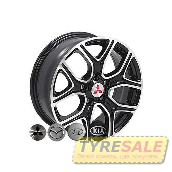 REPLICA KIA D5133 MB - Интернет магазин шин и дисков по минимальным ценам с доставкой по Украине TyreSale.com.ua
