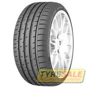 Купить Летняя шина CONTINENTAL ContiSportContact 3 205/55R17 91Y
