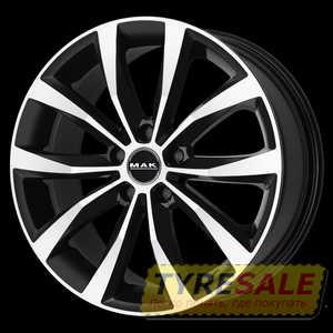 Купить MAK Wolf Black Mirror R16 W6.5 PCD5x112 ET42 HUB76