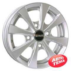 Купить TECHLINE 311 Silver R13 W4.5 PCD4x114.3 ET43 HUB69.1