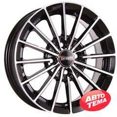 Купить TECHLINE 426 BL R14 W5.5 PCD4x98 ET35 HUB58.6