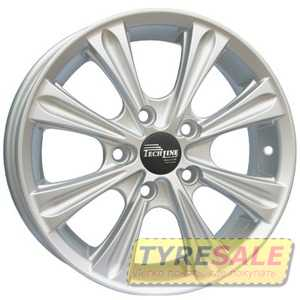 Купить TECHLINE 523 S R15 W6 PCD4x100 ET39 HUB67.1