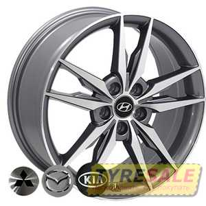 Купить REPLICA MAZDA BK862 GP R18 W7.5 PCD5x114.3 ET40 DIA67.1