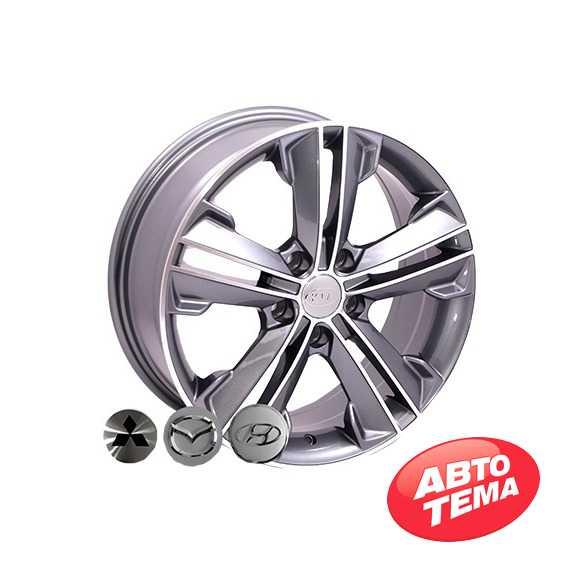 REPLICA HYUNDAI BK637 GP - Интернет магазин шин и дисков по минимальным ценам с доставкой по Украине TyreSale.com.ua
