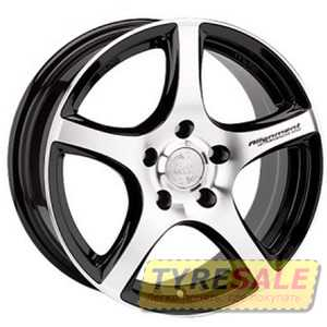 Купить RW (RACING WHEELS) H531 BKFP R16 W7 PCD5x100 ET40 DIA67.1