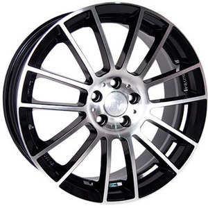 Купить RW (RACING WHEELS) H-408 BK/FP R15 W6.5 PCD5x114.3 ET40 DIA73.1