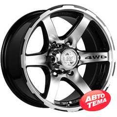 RW (RACING WHEELS) H-526 BK-F/P - Интернет магазин шин и дисков по минимальным ценам с доставкой по Украине TyreSale.com.ua