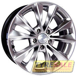Купить RW (RACING WHEELS) H-393 HS R17 W7.5 PCD5x112 ET37 DIA73.1