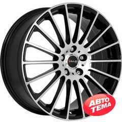 Купить AVUS AC-M03 BLACK POLISHED R16 W7 PCD5x108 ET42 DIA73.1