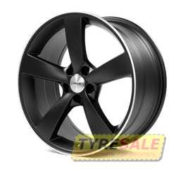AVUS AF10 Matt Black Polished - Интернет магазин шин и дисков по минимальным ценам с доставкой по Украине TyreSale.com.ua