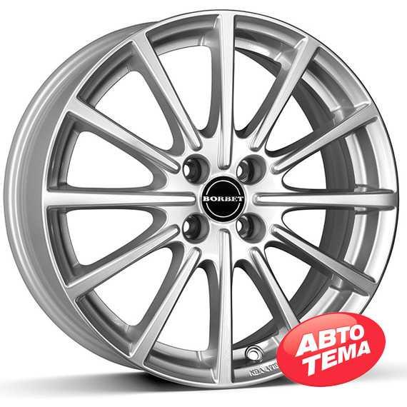 BORBET BL4 brilliant silver - Интернет магазин шин и дисков по минимальным ценам с доставкой по Украине TyreSale.com.ua
