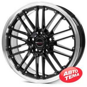Купить BORBET CW2 black rim polished R17 W7 PCD5x114.3 ET40 DIA72.6